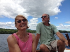 With Davis at Squam Lake