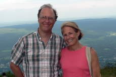 At summit of Mt. Graylock - July 2010