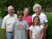 With Dick and Ann Wells - September 2007