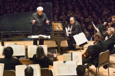Christoph von Dohnányi and Yefim Bronfman at Pam Wells Memorial Concert